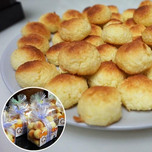 奶油椰子球手工餅乾