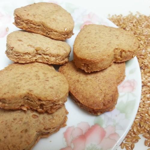 亞麻籽香酥手工餅乾