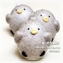 Q坊-角落生物II-小灰雞-養生黑芝麻粉創意造型饅頭
