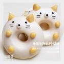 Q坊-角落生物-貓咪(全脂鮮奶)造型甜甜圈饅頭