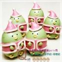 Q坊-角落夥伴-聖誔新裝go party趣_企鵝-創意造型饅頭