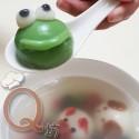 創意造型花生湯圓-抹茶大眼蛙