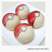 養生創意造型_神奇寶貝球pokemon-紅豆月餅 (12入禮盒)