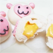 Q坊-起士雪猴創意造型牛奶包