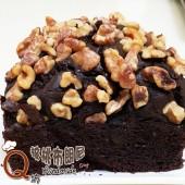 Q坊-巧克力布朗尼蛋糕 (5吋方型 / 盒)