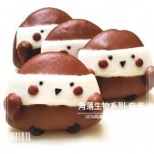 Q坊-角落生物- 麻雀(100%純可可粉口味)創意造型手工刈包