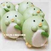 Q坊_角落生物_企鵝(抹茶)手工創意造型饅頭