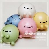 Q坊-角落生物-四色粉圓群-手腳(天然食材)手工創意造型饅頭