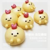 Q坊-角落生物-炸蝦妹(南瓜)手工創意造型饅頭