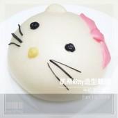 kitty_凱蒂貓鮮奶手工創意造型饅頭