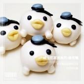 Q坊-廸士尼家族系列之唐老鴨-(全脂鮮奶&蝶豆花)手工創意造型饅頭
