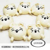 Q坊-收涎組-廸士尼_唯尼熊收涎創意造型饅頭/盒