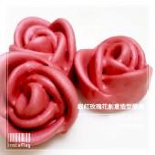 Q坊-戀戀花漾_鍛紅玫瑰花創意造型手工饅頭