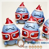 Q坊-角落夥伴-聖誔新裝go party趣_恐龍-創意造型饅頭
