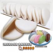 Q坊-七彩8色彩虹迷你手工小刈包-全脂鮮奶口味