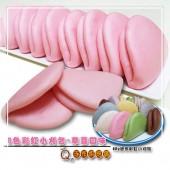 Q坊-七彩8色彩虹迷你手工小刈包-草莓口味