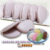 Q坊-七彩8色彩虹迷你手工小刈包-紫薯口味