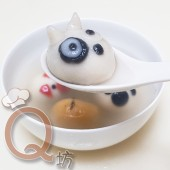 創意造型芝麻湯圓-原味牛頭梗