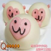 6運猴-雪白猴子_牛奶手工創意造型饅頭